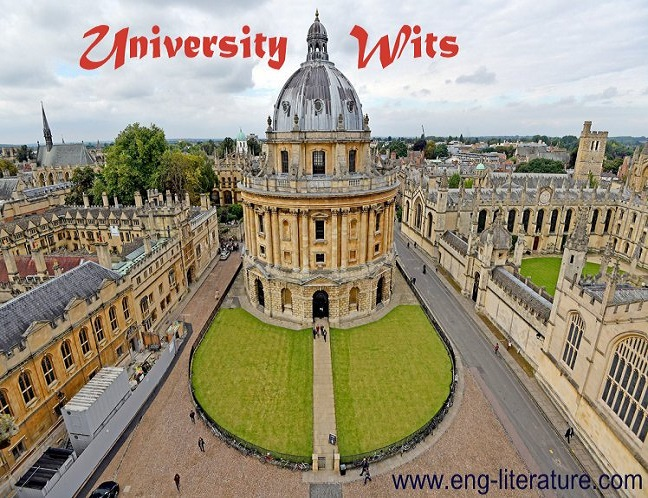Who are University Wits? Evaluate their contribution to Elizabethan drama.