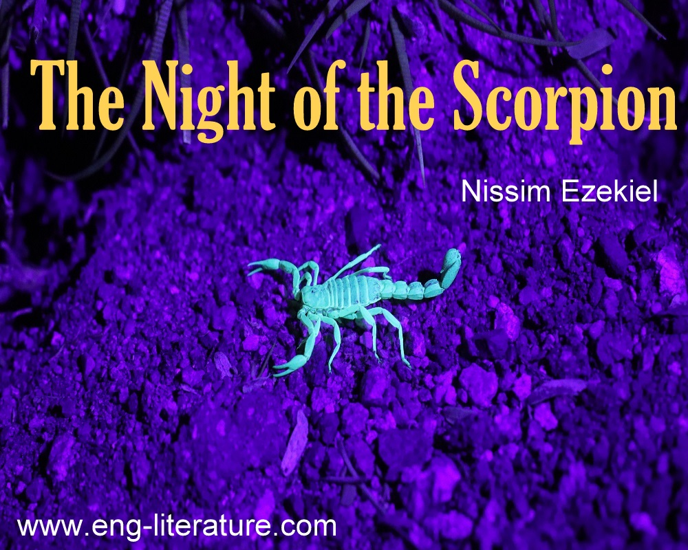 """Nissim Ezekiel's Indianness or Indian Sensibility in """"The Night of the Scorpion"""""""