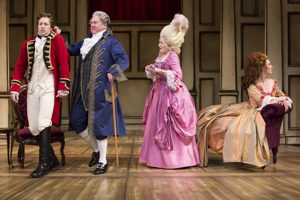 """Discuss """"The Rivals"""" as an artificial comedy of manners mirroring the Restoration England. or Is the spirit of """"The Rivals"""" in keeping with the reaction against the sentimental comedy prevailing in the age?"""
