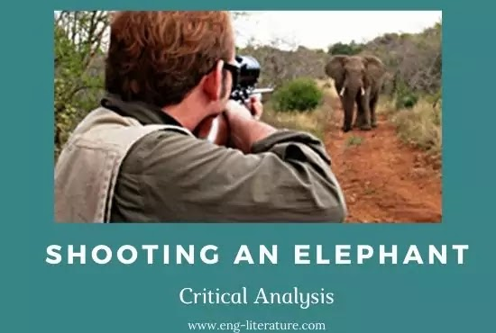 Shooting an Elephant : Critical Analysis or Orwell's View on Imperialism