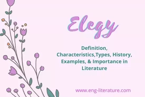 Elegy : Definition, Characteristics,Types, History, Examples, and Importance in Literature