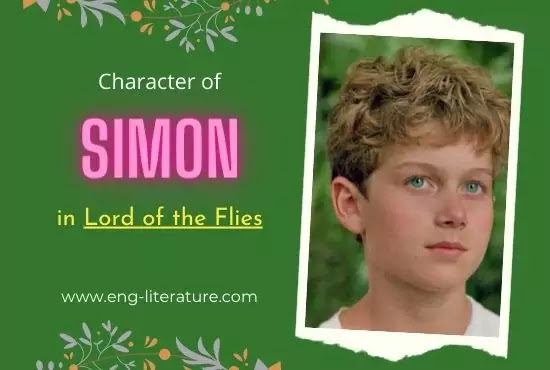 Character of Simon in William Golding's Lord of the Flies
