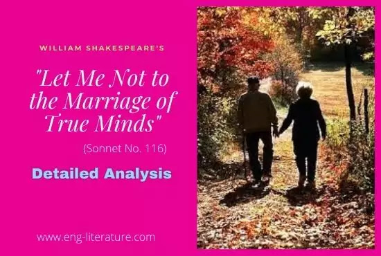 """Shakespeare's """"Let Me Not to the Marriage of True Minds"""" Analysis"""