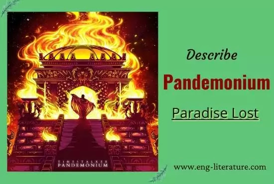 Description of Pandemonium in John Milton's Paradise Lost
