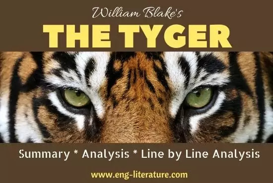 William Blake's The Tyger Poem Summary, Analysis, Line by Line Analysis