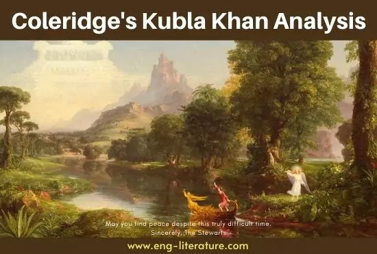 Coleridge's Kubla Khan Analysis