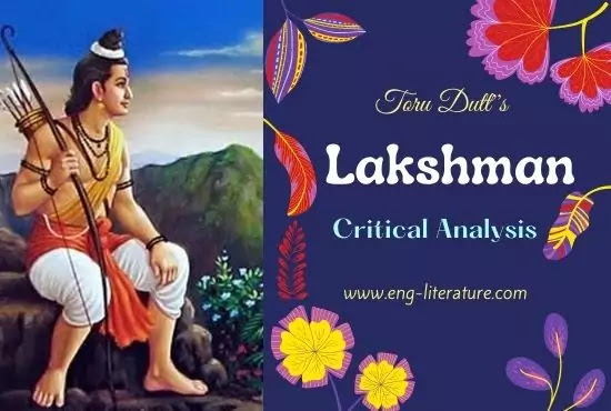 Toru Dutt's Lakshman Analysis or Lakshman Character Analysis