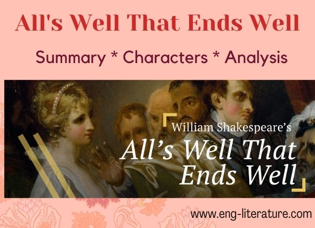 All's Well That Ends Well Shakespeare
